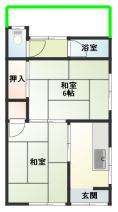 尼崎市東園田町5丁目の文化住宅の画像