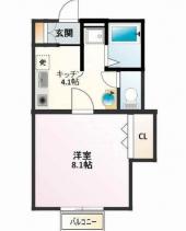 姫路市広畑区小松町2丁目のアパートの画像