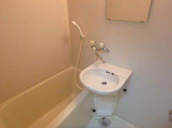 追焚機能・洗面台付お風呂です