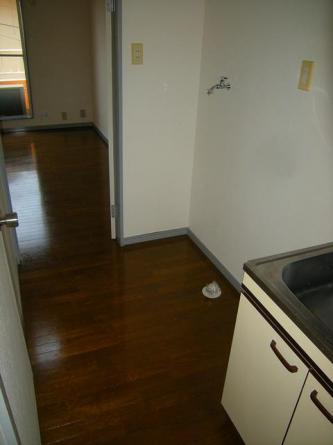 冷蔵庫、洗濯機スペース