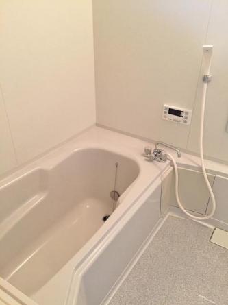 シャワー付洗面台 洗濯機置き場