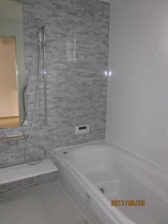1坪広々浴槽