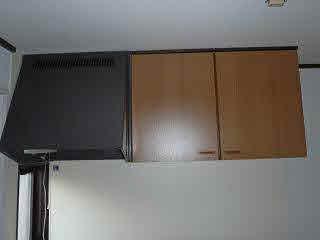 キッチン上置き棚