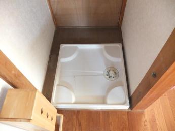 1階 洗濯機置き場