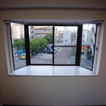 南側の出窓