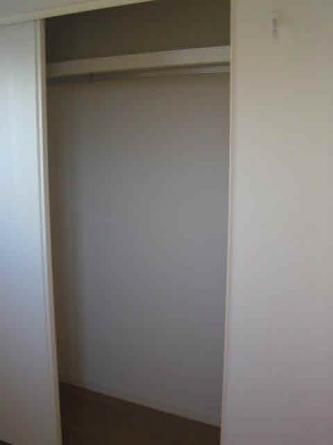 洋室にはクローゼット