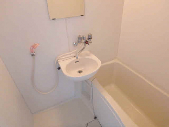 給湯式のお風呂です