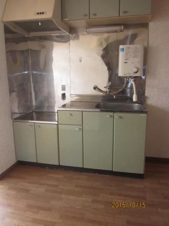 キッチン 給湯器付