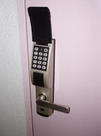鍵の持ち歩き不要のデジタルキーです