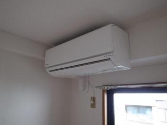 新品エアコン設置
