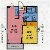 亘理郡亘理町字油田のアパートの画像