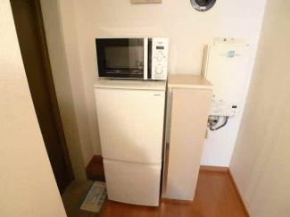 新品冷蔵庫・電子レンジ