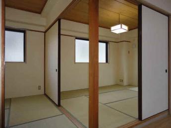 和室6畳と4.5畳