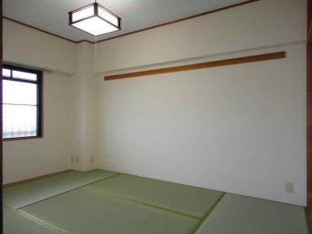 北和室6畳 / 以下掲載画像は「対称タイプ・モデルルーム」のものです。