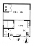 東京都練馬区西大泉1丁目のアパートの画像