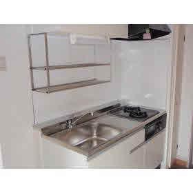 使い勝手の良い、システムキッチン