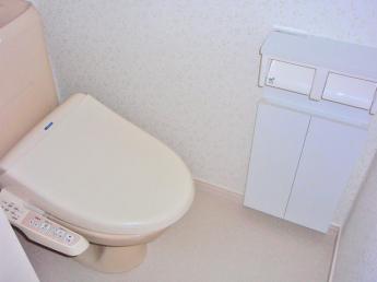 暖房便座洗浄機能付トイレ