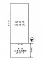 加古郡播磨町北本荘5丁目の売地の画像