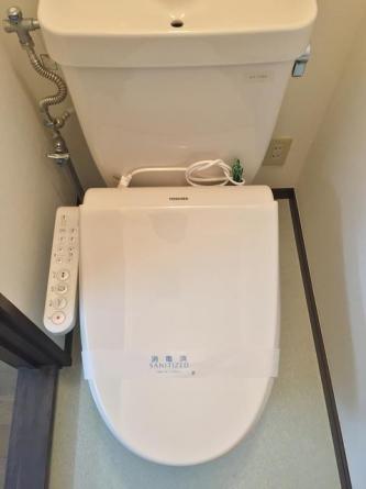 温水洗浄機能新設