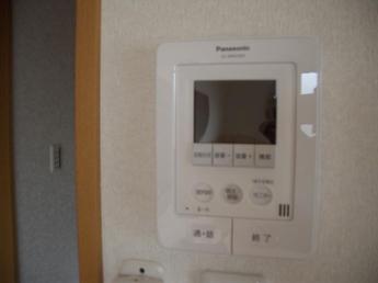 訪問者録画付カラーモニター付ドアホン