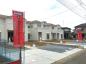 加須市外川南欧風新築物件 土地66坪 車並列3台可の画像