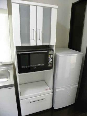 洗濯機・電子レンジ完備