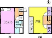 三郷市早稲田4丁目のアパートの画像