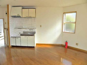 一人暮らしには贅沢なキッチン。