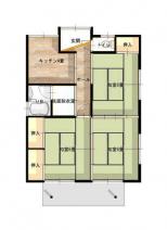 梶賀咲間住宅A棟東の画像